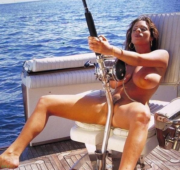 эротические приколы на рыбалке